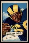 1952 Bowman Large #120   Dan Towler Front Thumbnail