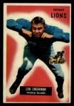 1955 Bowman #112   Lou Creekmur Front Thumbnail