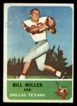 1962 Fleer #28  Bill Miller  Front Thumbnail