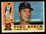 1960 Topps #272   Fred Green Front Thumbnail