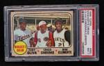 1968 Topps #480  Manager's Dream  -  Tony Oliva / Leo 'Chico' Cardenas / Roberto Bob Clemente Front Thumbnail