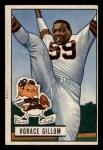 1951 Bowman #37   Horace Gillom Front Thumbnail