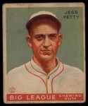 1933 Goudey #90   Jess Petty Front Thumbnail