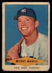 1954 Red Heart #18  Mickey Mantle  Front Thumbnail
