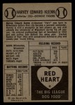 1954 Red Heart #15   Harvey Kuenn    Back Thumbnail