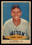 1954 Red Heart #31  Sammy White  Front Thumbnail