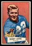 1952 Bowman Large #78   Bobby Layne Front Thumbnail