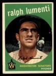 1959 Topps #316 *xOPT* Ralph Lumenti  Front Thumbnail