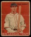 1933 Goudey #25   Paul Waner Front Thumbnail