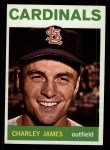 1964 Topps #357   Charlie James Front Thumbnail