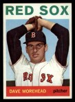1964 Topps #376   Dave Morehead Front Thumbnail