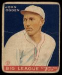 1933 Goudey #176   John Ogden Front Thumbnail