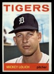 1964 Topps #128   Mickey Lolich Front Thumbnail