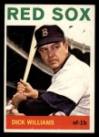 1964 Topps #153   Dick Williams Front Thumbnail