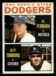 1964 Topps #337   Dodgers Rookie Stars  -  Al Ferrara / Jeff Torborg Front Thumbnail