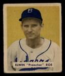 1949 Bowman #162   Preacher Roe Front Thumbnail