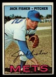 1967 Topps #533   Jack Fisher Front Thumbnail