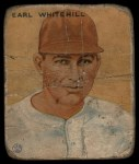 1933 Goudey #124   Earl Whitehill Front Thumbnail