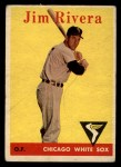 1958 Topps #11 ^WT^ Jim Rivera  Front Thumbnail