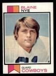 1973 Topps #299   Blaine Nye Front Thumbnail