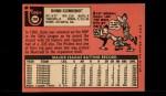 1969 Topps #208 COR  Donn Clendenon Back Thumbnail