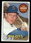 1969 Topps #482 ^YN^ Jim Gosger  Front Thumbnail