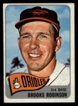 1965 Topps #150   Brooks Robinson Front Thumbnail
