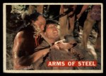 1956 Topps Davy Crockett #30 ORG Arms of Steel   -    Front Thumbnail
