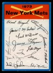1973 Topps #16  Mets Team Checklist  Front Thumbnail