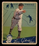 1934 Goudey #71   Lyle Tinning Front Thumbnail
