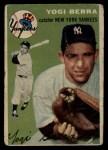 1954 Topps #50   Yogi Berra Front Thumbnail