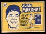 1970 Topps #466  All-Star  -  Juan Marichal Back Thumbnail