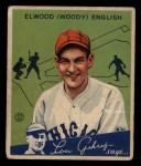 1934 Goudey #4   Elwood English Front Thumbnail
