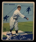 1934 Goudey #24  Ray Benge  Front Thumbnail