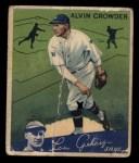 1934 Goudey #15  Alvin Crowder  Front Thumbnail