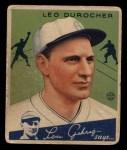 1934 Goudey #7   Leo Durocher Front Thumbnail