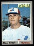 1970 Topps #527   Don Bosch Front Thumbnail