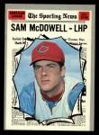 1970 Topps #469  All-Star  -  Sam McDowell Front Thumbnail