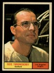 1961 Topps #282   Faye Throneberry Front Thumbnail