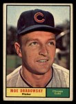 1961 Topps #364  Moe Drabowsky  Front Thumbnail