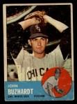 1963 Topps #35   John Buzhardt Front Thumbnail