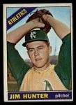 1966 Topps #36   Catfish Hunter Front Thumbnail