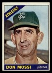 1966 Topps #74  Don Mossi  Front Thumbnail