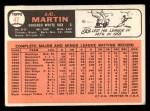 1966 Topps #47  JC Martin  Back Thumbnail