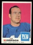 1969 Topps #175  Joe Morrison  Front Thumbnail