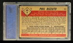 1953 Bowman #9  Phil Rizzuto  Back Thumbnail