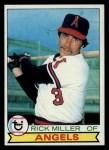 1979 Topps #654  Rick Miller  Front Thumbnail