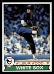 1979 Topps #216   Wilbur Wood Front Thumbnail