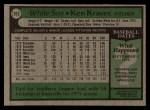 1979 Topps #283  Ken Kravec  Back Thumbnail