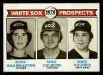 1979 Topps #704  White Sox Prospects    -  Ross Baumgarten / Mike Colbern / Mike Squires Front Thumbnail